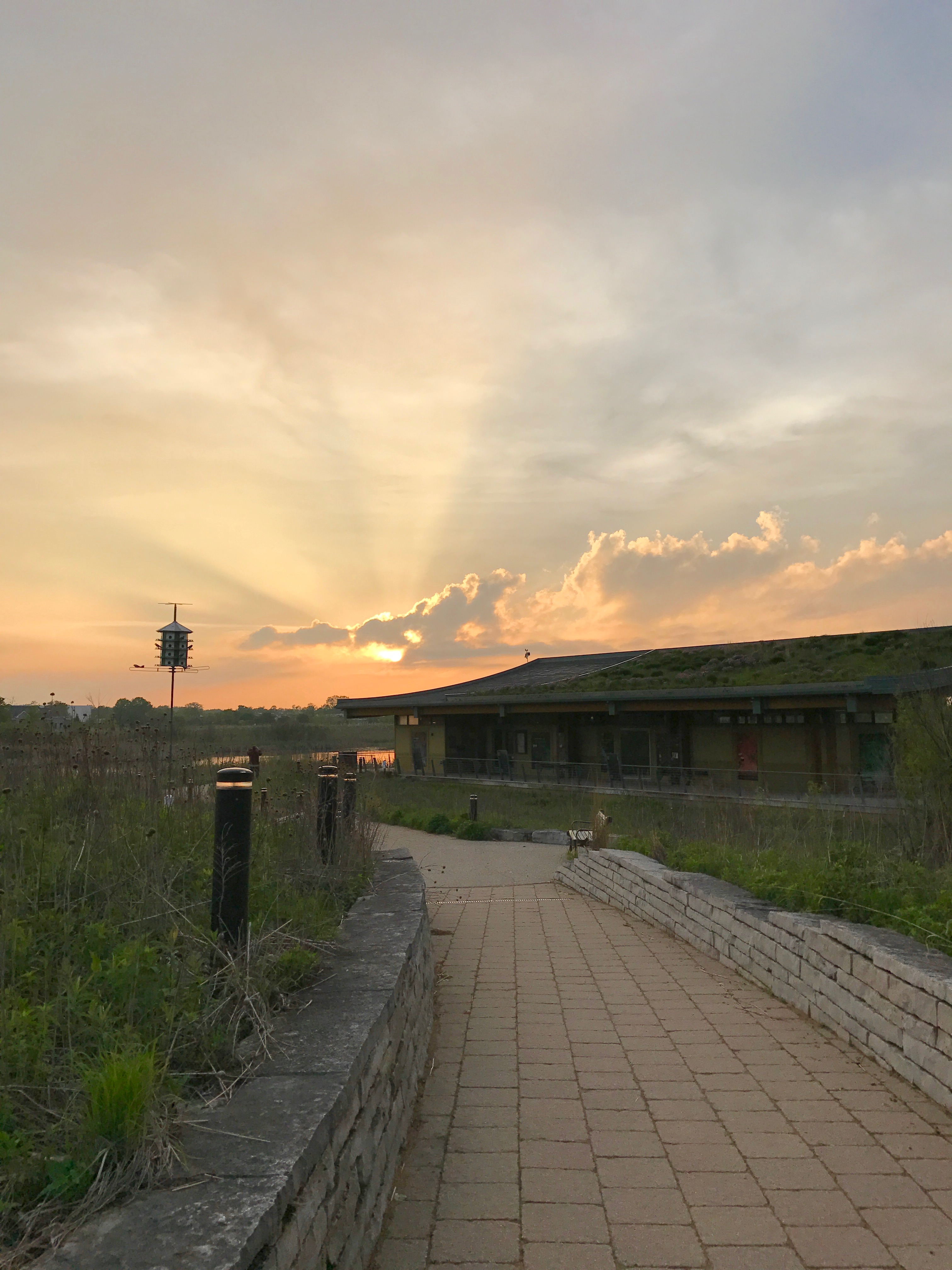 Evelyn Pease Interpretive Center-Glen Air Prairie 2016.jpg